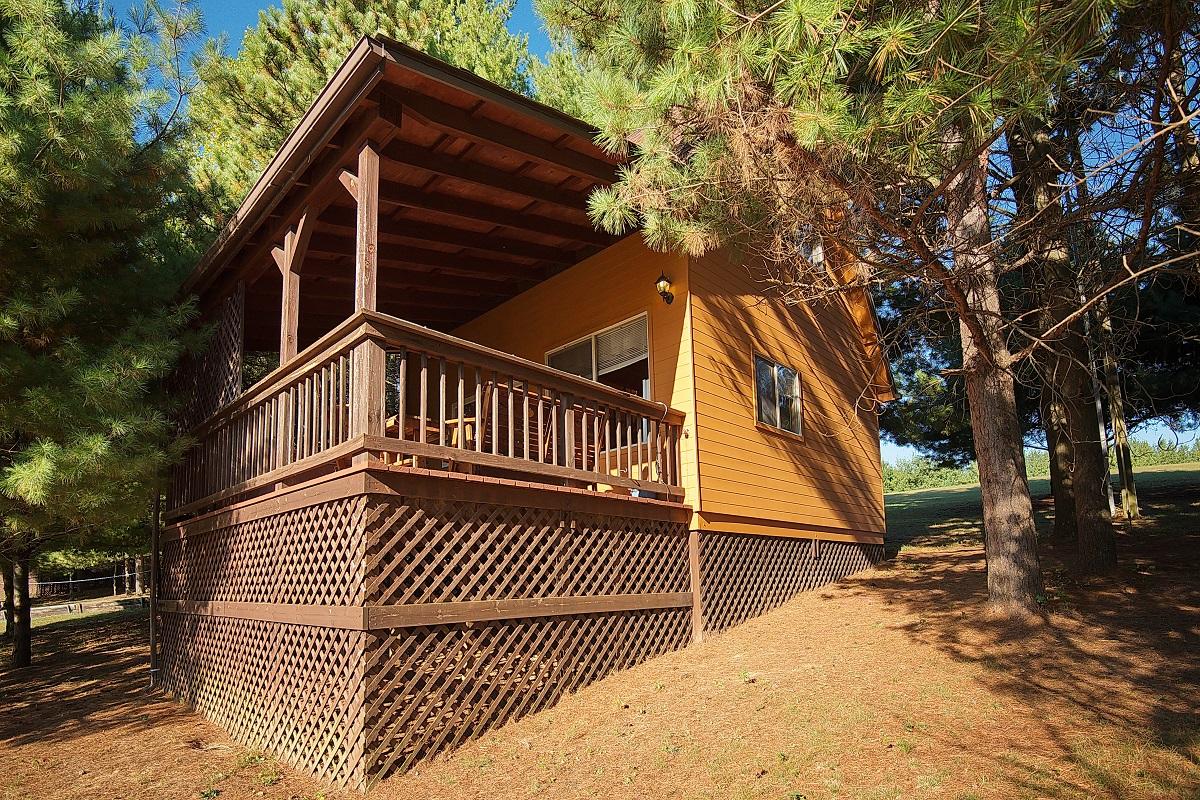 Hocking Hills Country Vista Cabins Wildflower Cabin