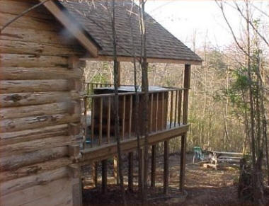 Romantic Vacation Cabin Centrally Located Near The State