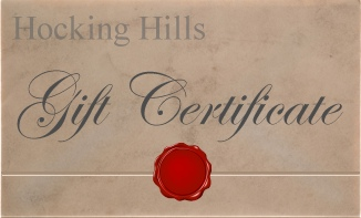 Hocking Hills Gift Certificates