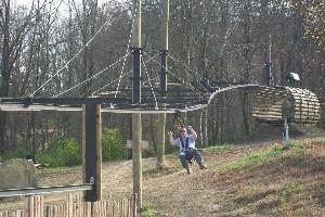 Zip Line Seat >> R Adventure Park - Zip Rail - Hocking Hills Zip Rail
