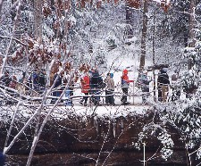 Hocking Hills Annual Winter Hike