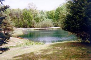 Paradise cabin hocking hills ohio for Fishing ponds columbus ohio