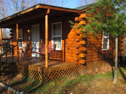 Hocking Hills Log Cabin Romantic Quiet Relaxing And Clean